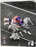 BRONCOS JOHN ELWAY SIGNED AUTHENTIC 16X20 PHOTO ELWAY HOLOGRAM & PSA/DNA