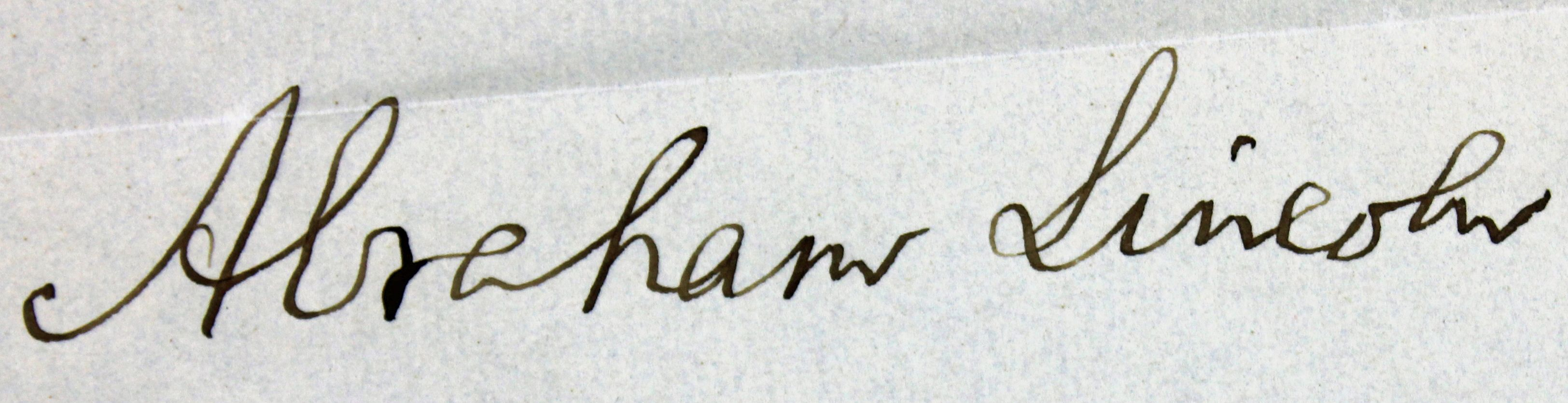 Presidential Pardon  >> Lot Detail - Abraham Lincoln Signed Civil War Dated ...