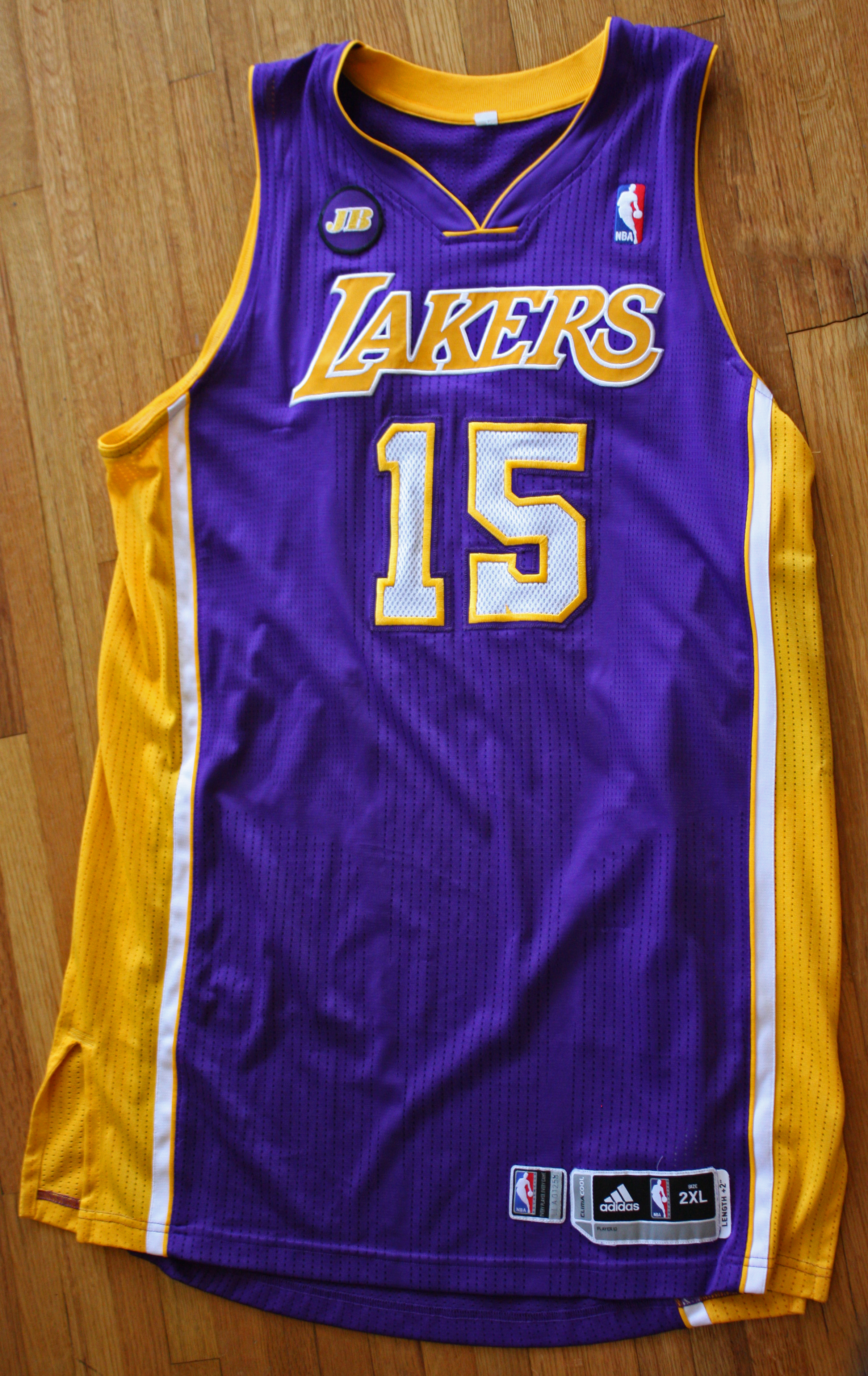 927caf9a279 2012-2013 Metta World Peace (Ron Artest) Game Worn Jersey (DC Sports ...
