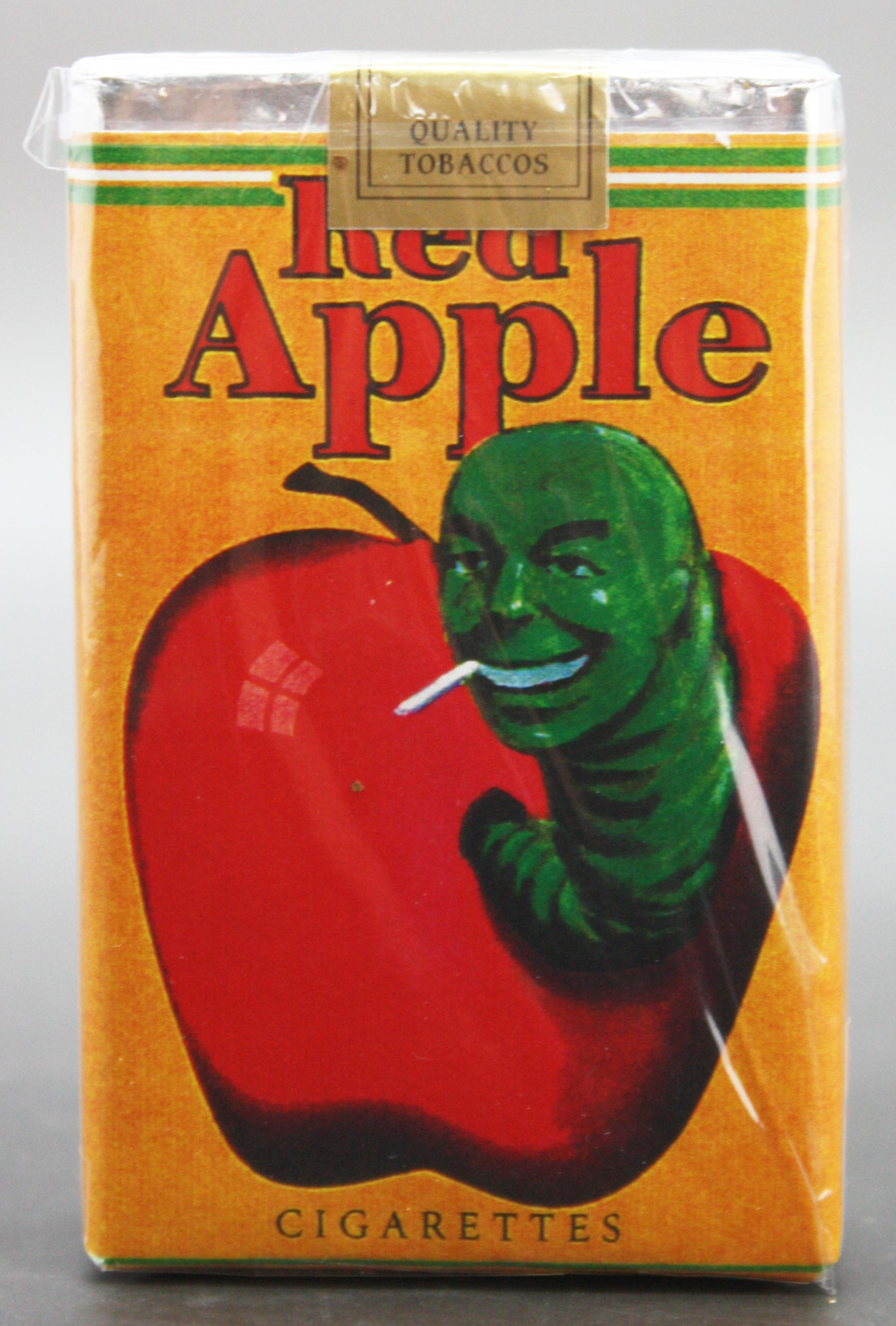 Lot detail unique red apple prop cigarettes from multiple tarantino