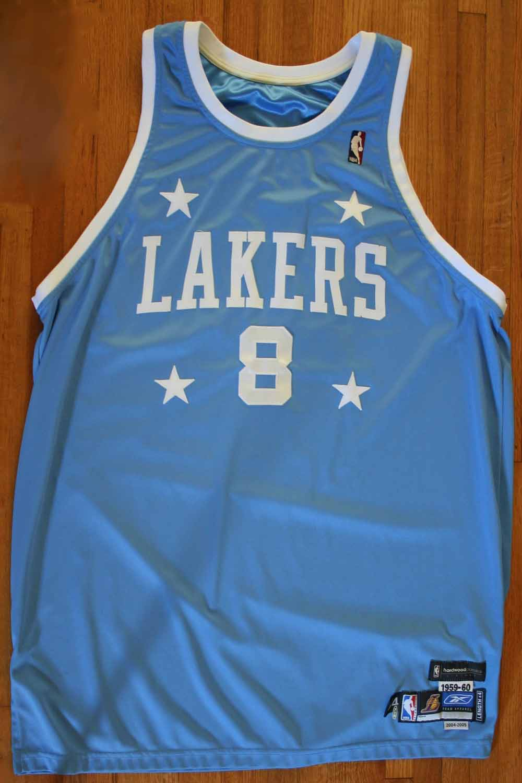a64ba1422 Kobe Bryant Superb Game Worn Lakers Retro MPLS Model Jersey (12 17 04 ...