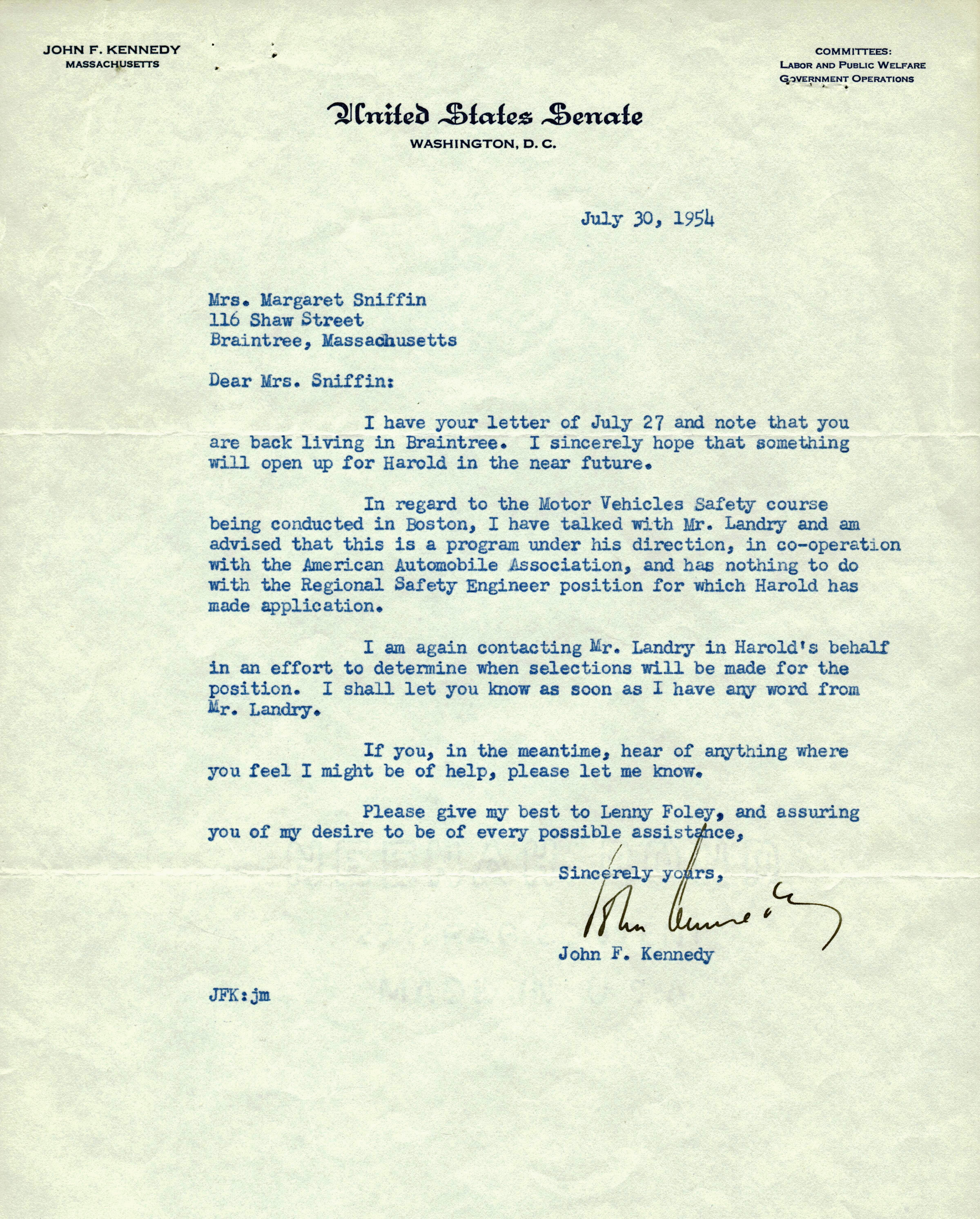an overview of the letter for the president of united states Letter from president kennedy to chairman khrushchev0 washington, april 18, 1961 mr chairman: you are under a serious misapprehension in regard to events in cuba for months there has been evident and growing resistance to the castro dictatorship more than 100,000 refugees have recently fled from cuba into.