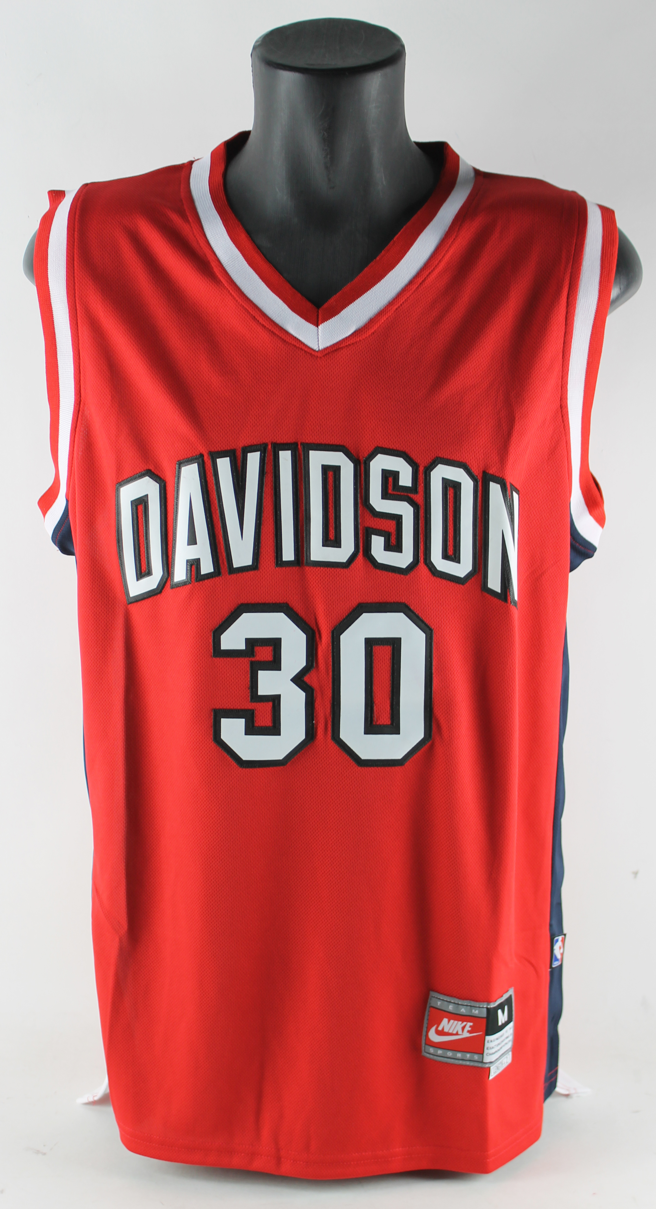 37b78f12b7a8 Lot Detail - Steph Curry Signed Davidson College Model Jersey (JSA)