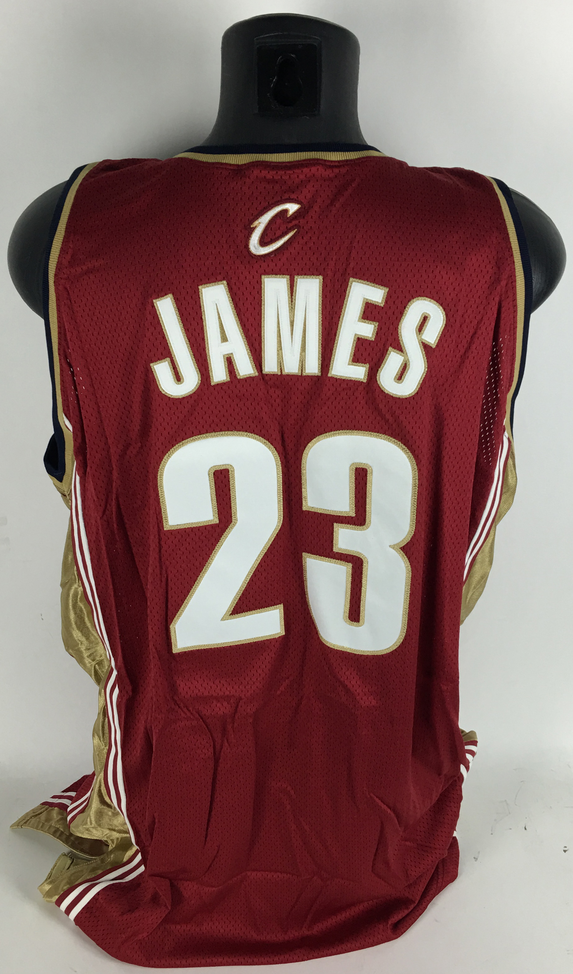 sale retailer 6bf3c d7025 Lot Detail - LeBron James Game Used/Worn Rookie 2003/04 ...