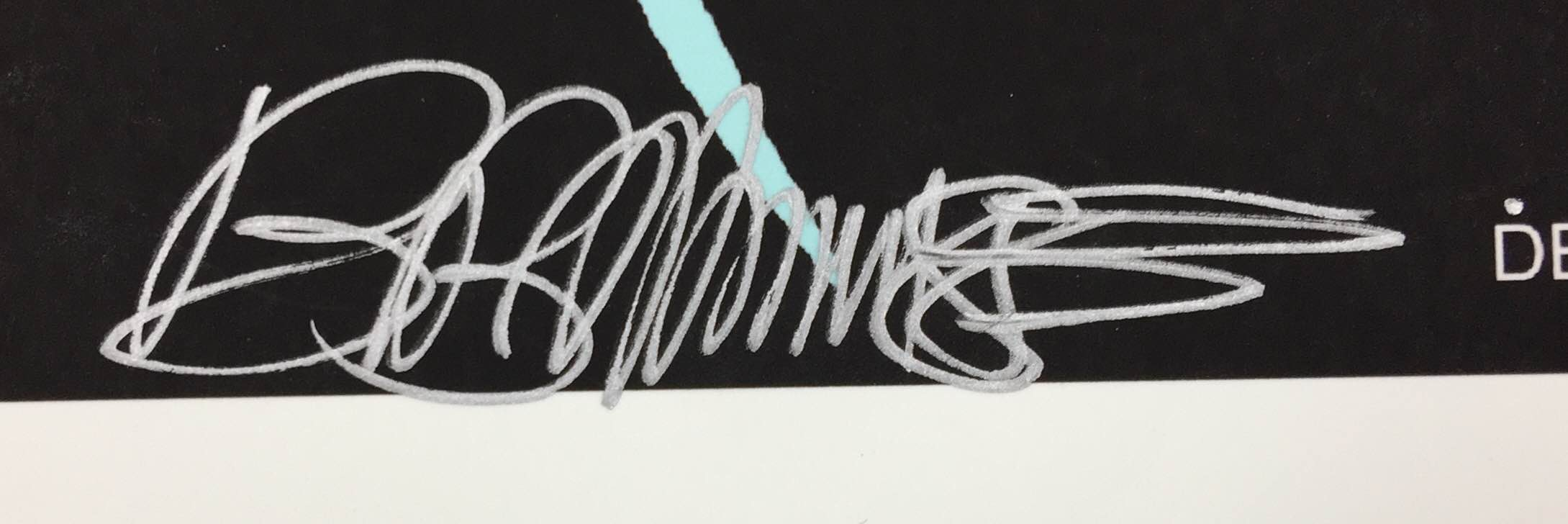 Lot Detail - (Nine Inch Nails) Bob Masse Signed & Designed NIN ...