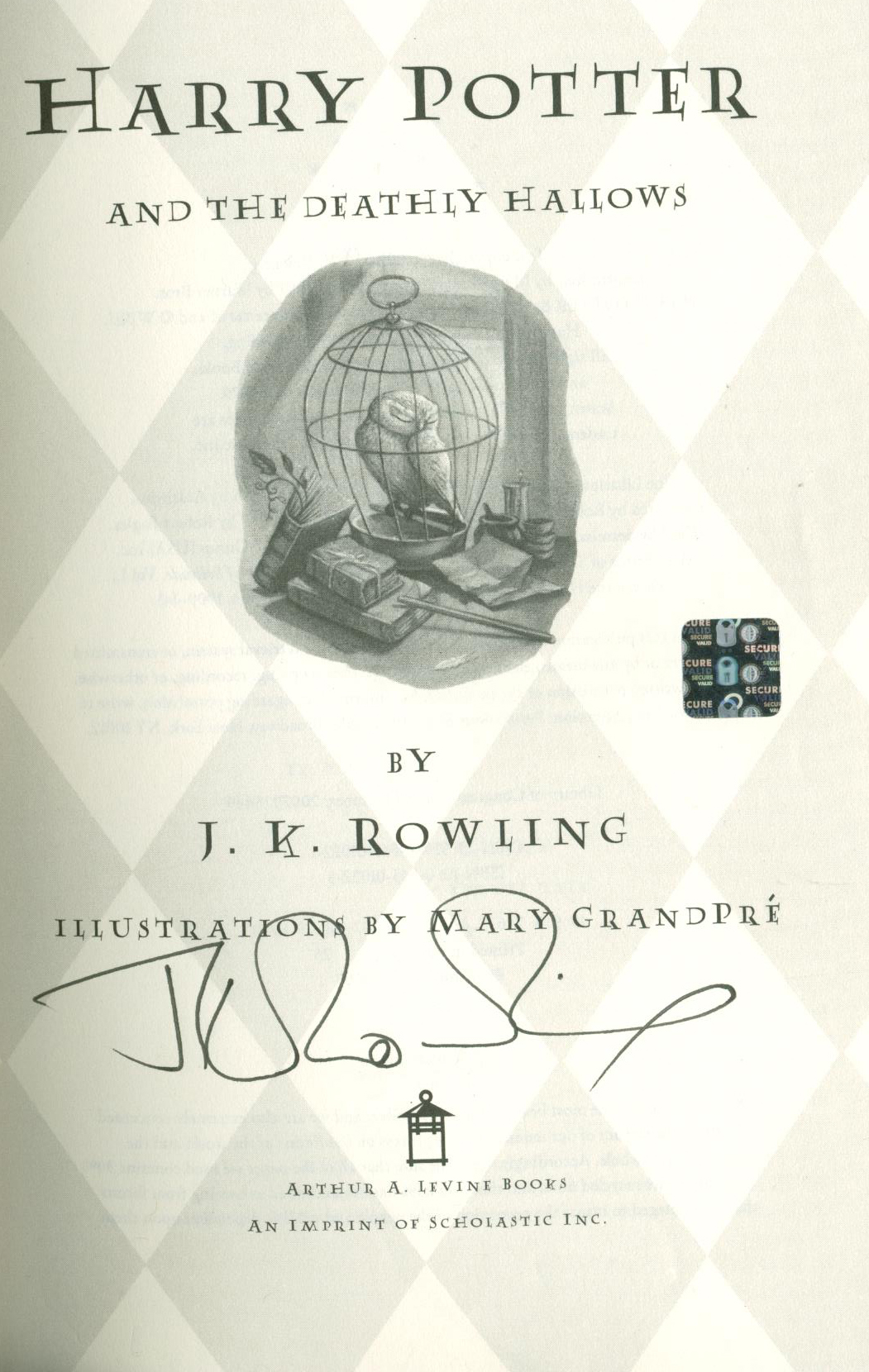 Harry Potter Book First Edition ~ Lot detail j k rowling rare signed first edition