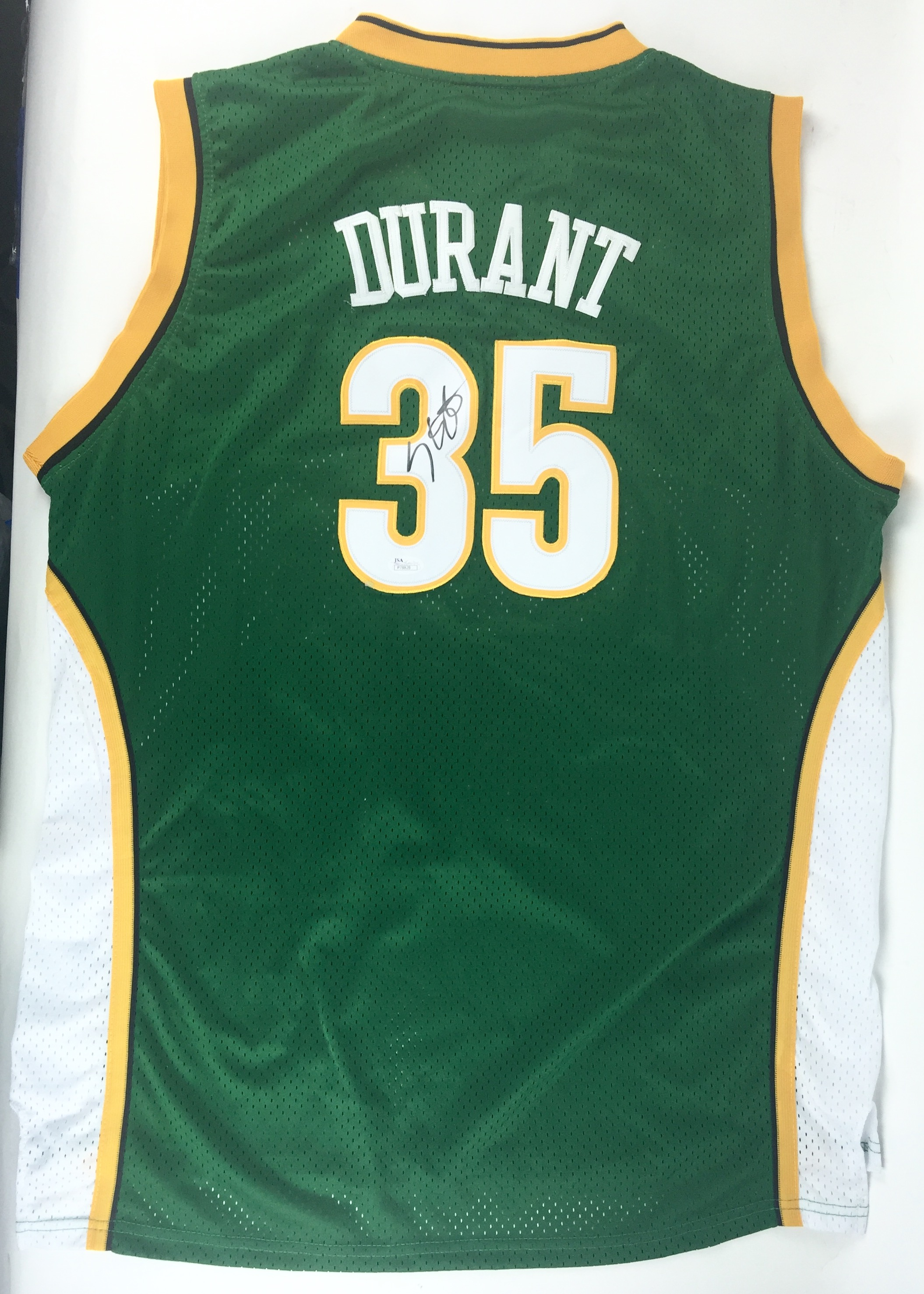 best website 1e62a 9dbf7 Lot Detail - Kevin Durant Signed Seattle Supersonics Rookie ...