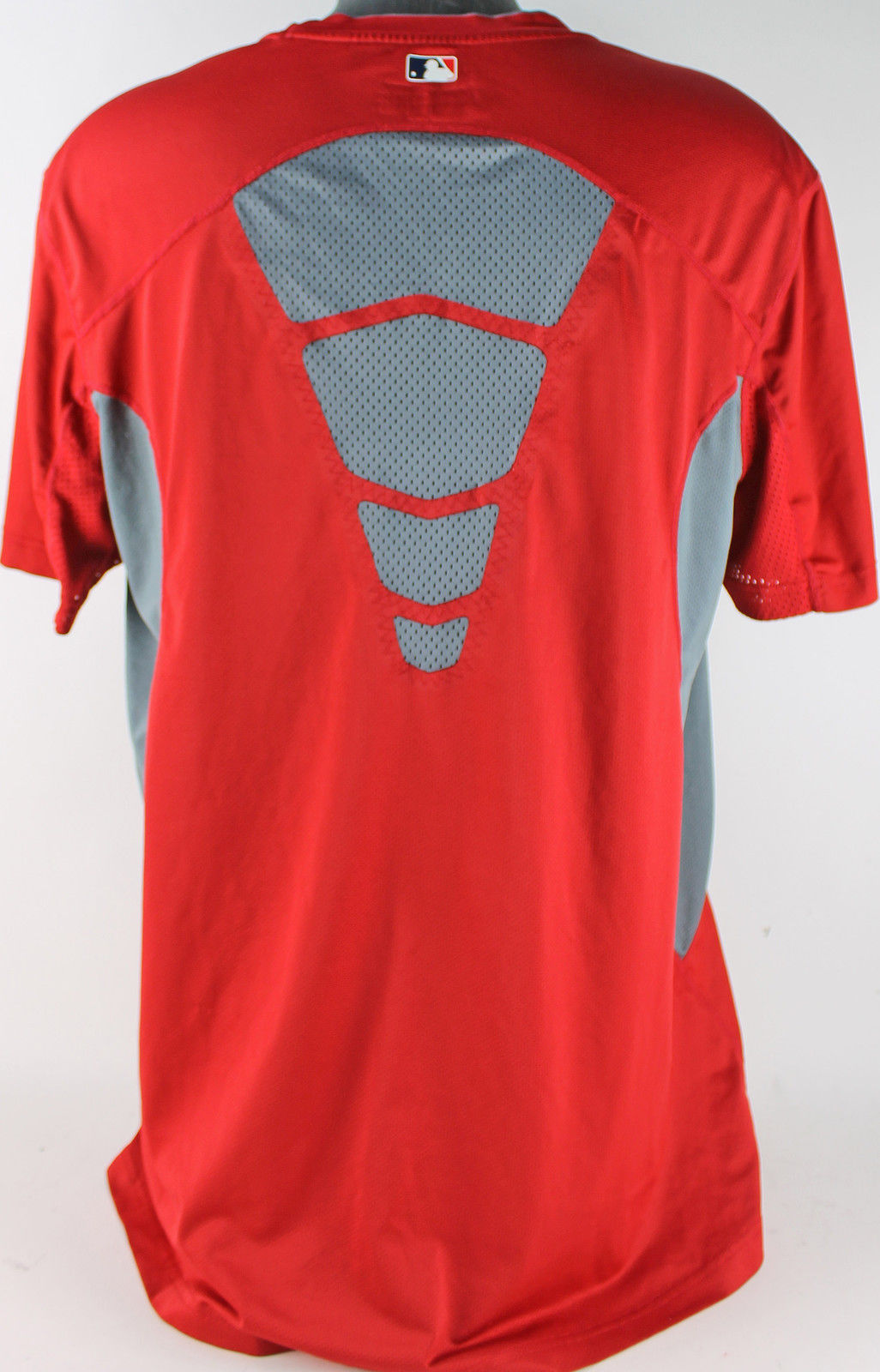 best sneakers e3b27 ee9aa Lot Detail - 2014 Mike Trout Game Worn Jersey Undershirt ...