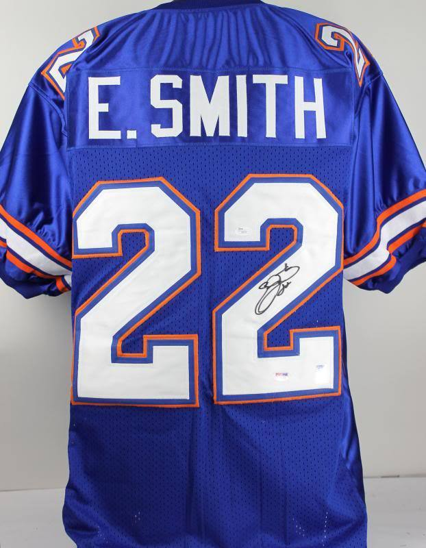 brand new ef084 a6c0a Lot Detail - Emmitt Smith Signed Florida Gators College ...