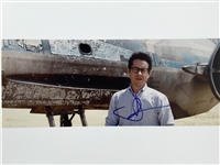 "Star Wars: J.J. Abrams Signed 11"" x 14"" Color Photo on Set of ""The Force Awakens"" (PSA/JSA Guaranteed)"
