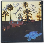 "The Eagles ULTRA-RARE Group Signed ""Hotel California"" Album w/ All Five Members! (Epperson/REAL & JSA LOAs)"
