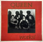 "Queen Group Signed ""The Works"" Tour Program w/ Freddie Mercury, Roger Taylor, Brian May & John Deacon (JSA)"