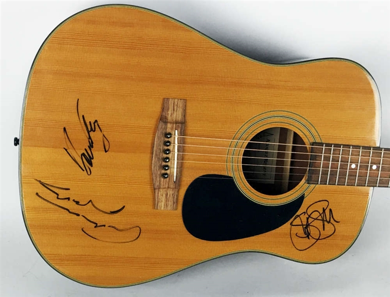CSN: Crosby, Stills & Nash Signed Alvarez Acoustic Guitar (JSA)