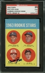 Pete Rose Rare Signed 1963 Topps Rookie Card w/ GEM MINT 10 Autograph Grade! (SGC & TPA Guaranteed)