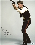 "Harrison Ford Signed 11"" x 14"" Color Photo from Star Wars (Beckett/BAS)"
