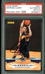 Stephen Curry Signed 2009 Panini #357 Rookie Card w/ MINT 9 Signature (PSA/DNA Encapsulated)