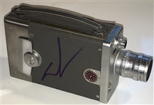 George Lucas Signed Bell & Howell Camera (TPA Guaranteed)
