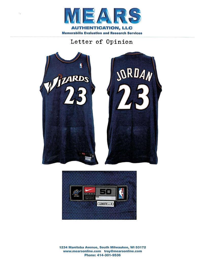 best sneakers b34ed f1d28 Lot Detail - Jordan's Last Season: Michael Jordan Game Used ...