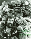 "Jim Henson Signed & Inscribed 8"" x 10"" Photo w/ the Muppets (PSA/DNA)"