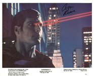"Christopher Reeve Signed 8"" x 10"" B&W ""Superman II"" Promotional Photo (JSA)"
