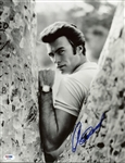 "Clint Eastwood Signed 11"" x 14"" Black & White Photograph (PSA/DNA)"