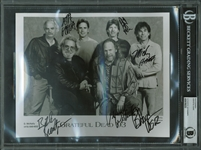 "Grateful Dead: Group Signed 8"" x 10"" Promotional Photo w/ 6 Signatures (Beckett/BAS Encapsulated)"