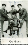 The Beatles: Group Signed Promotional Photo w/ ULTRA-RARE Jimmie Nicol Autograph! (Beckett/BAS Guaranteed)