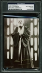 "Alec Guinness Signed 3.5"" x 5"" B&W Photo as Obi Wan Kenobi (PSA/DNA Encapsulated)"