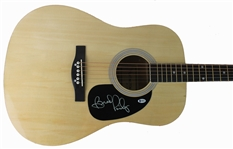 Brad Paisley Signed Acoustic Guitar (BAS/Beckett)