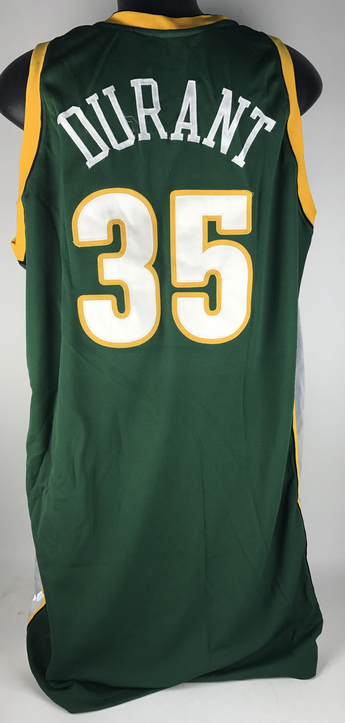 new arrival b3350 6e155 Lot Detail - 2007-08 Kevin Durant Game Worn Seattle ...