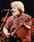 "The Grateful Dead: Jerry Gracia Near-Mint Signed 8"" x 10"" On-Stage Color Photograph (Beckett)"
