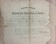 President U.S. Grant Rare Signed Appointment Document (Beckett)