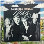 "CSNY Group Signed ""American Dream"" Album Flat (Beckett)"