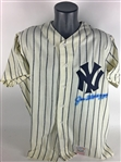 Joe DiMaggio Signed Mitchell & Ness Yankees Jersey (PSA/DNA)