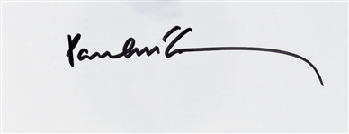 "Paul McCartney Near-Mint Signed 3"" x 6"" Album Page (Beckett/BAS Guaranteed)"