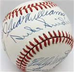 MLB Legends Signed Near-Mint OAL Baseball w/ Mantle, Williams, Mays & Others! (JSA)
