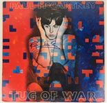 "The Beatles: Paul McCartney Signed ""Tug Of War"" Album (Beckett & Perry Cox)"