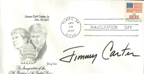 Jimmy Carter Signed First Day Cover w/ Full Name Autograph! (Beckett/BAS Guaranteed)