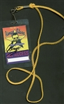 The Beatles: Ringo Starr Signed Back Stage Pass (Beckett/BAS Guaranteed)