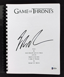"George R.R. Martin Signed ""Game of Thrones"" Pilot Episode Script (BAS/Beckett)"