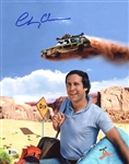 "Chevy Chase Signed 11"" x 14"" Photo from ""National Lampoons Vacation"" (BAS/Beckett)"