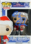 Chevy Chase Signed Clark Griswald Funko Pop Figurine (Beckett/BAS & Chevy Chase Holo)