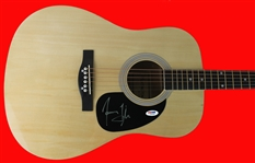 James Taylor Signed Acoustic Guitar (PSA/DNA)