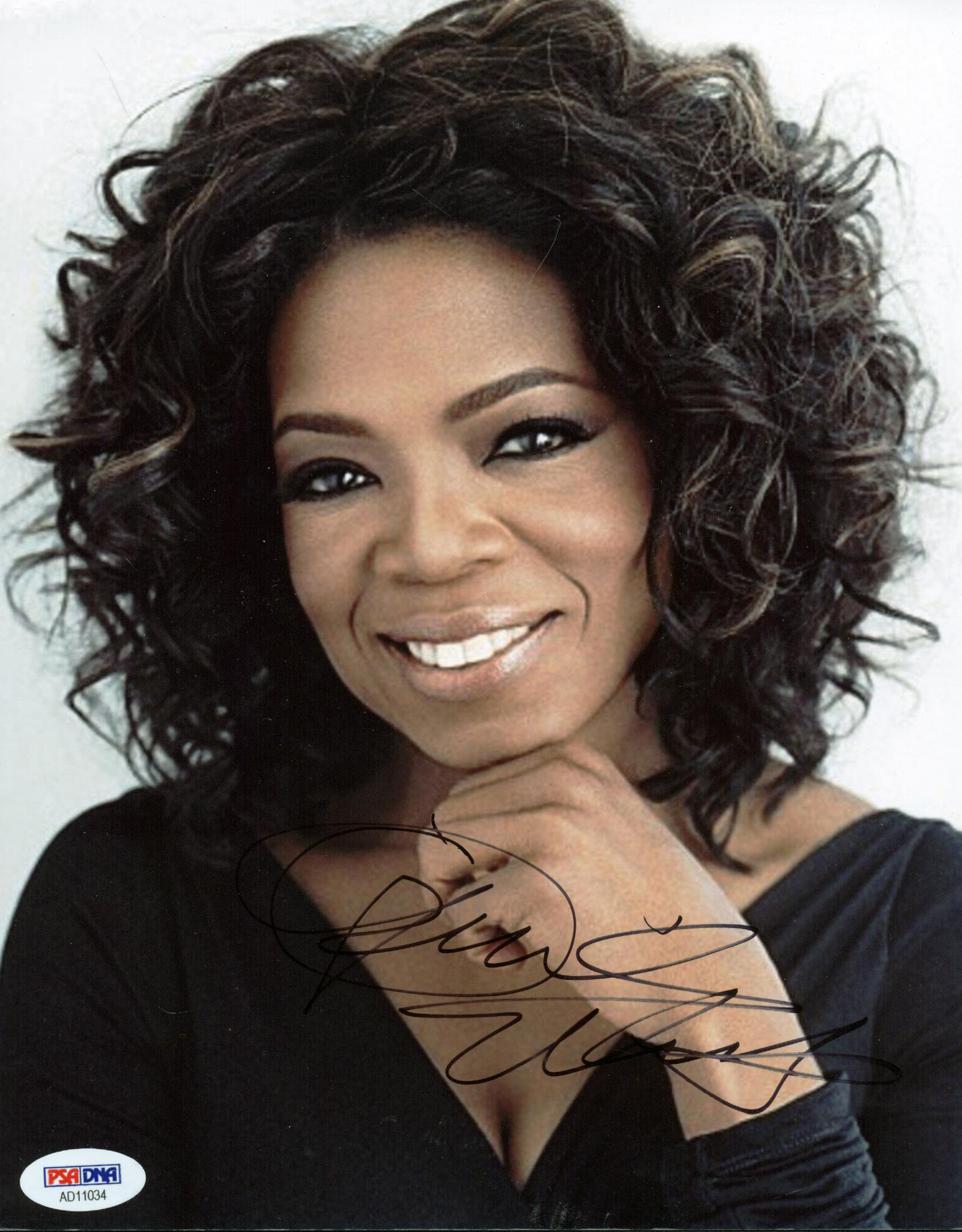 Lot Detail Oprah Winfrey Signed 8 X 10 Color Photograph Psadna