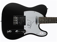 Johnny Depp Signed Telecaster-Style Electric Guitar (PSA/DNA)