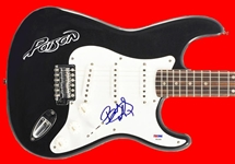 Poison: Bret Michaels Signed Stratocaster Style Electric Guitar (PSA/DNA)
