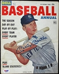 Mickey Mantle Signed 1953 Dell Baseball Annual Magazine - PSA/DNA Graded GEM MINT 10!