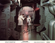 "Star Wars: Kenny Baker Signed & Inscribed 8"" x 10"" Promotional Fox Photograph (Beckett/BAS Guaranteed)"