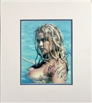"Anna Nicole Smith Signed 8"" x 10"" Nude Photograph w/ ""Are They Floating?? Could Be My Hands"" Inscription! (Beckett/BAS Guaranteed)"