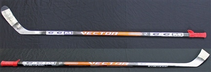 Alexander Ovechkin Game Used & Signed CCM Pro Model Hockey Stick (Capitals COA + BAS/Beckett)